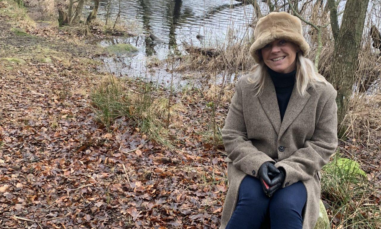 På promenad runt Ekeholmssjön
