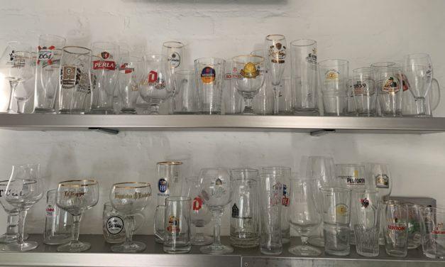 Ölglas från världens alla hörn
