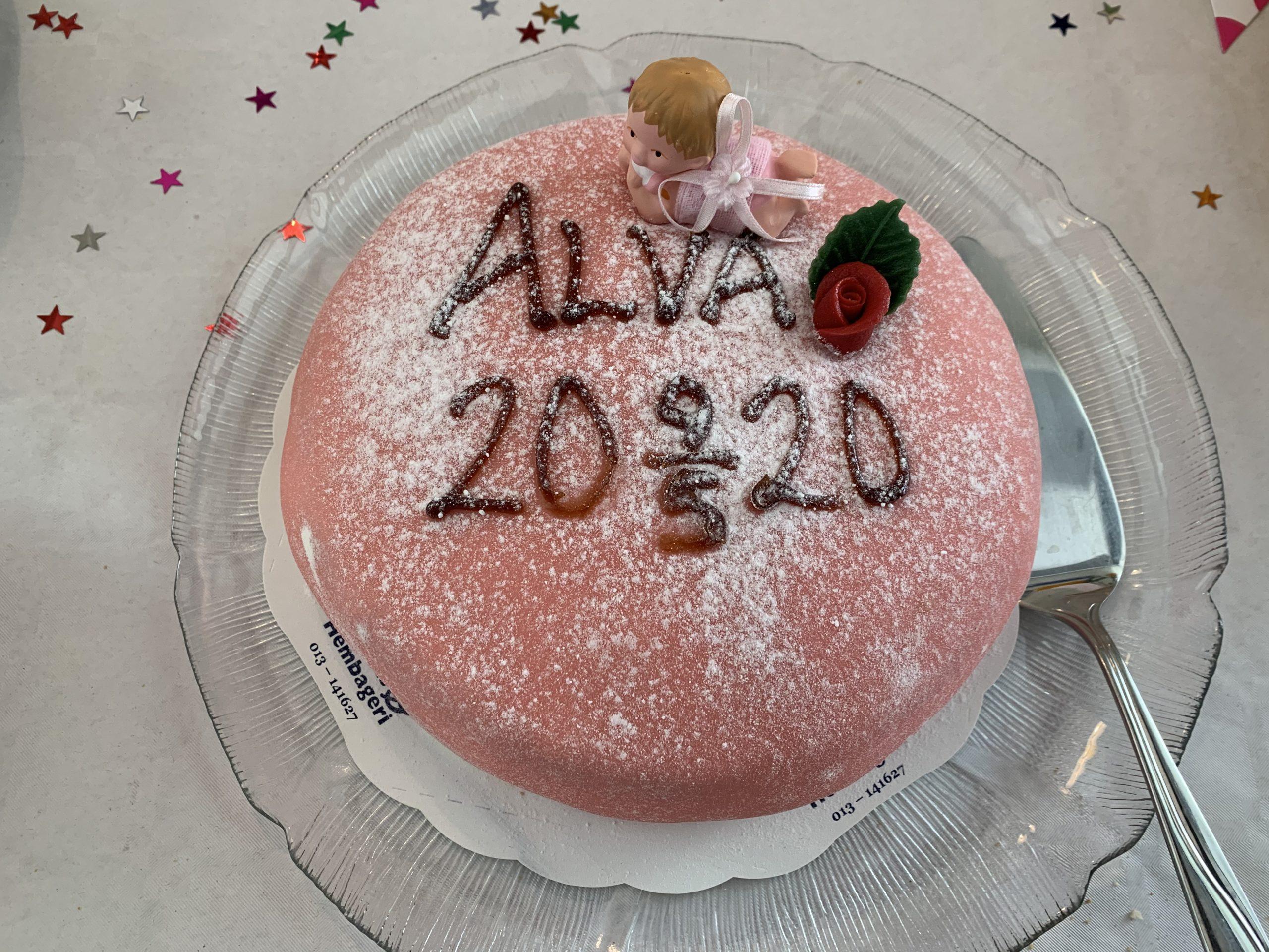 Alvas fina och goda prinsesstårta