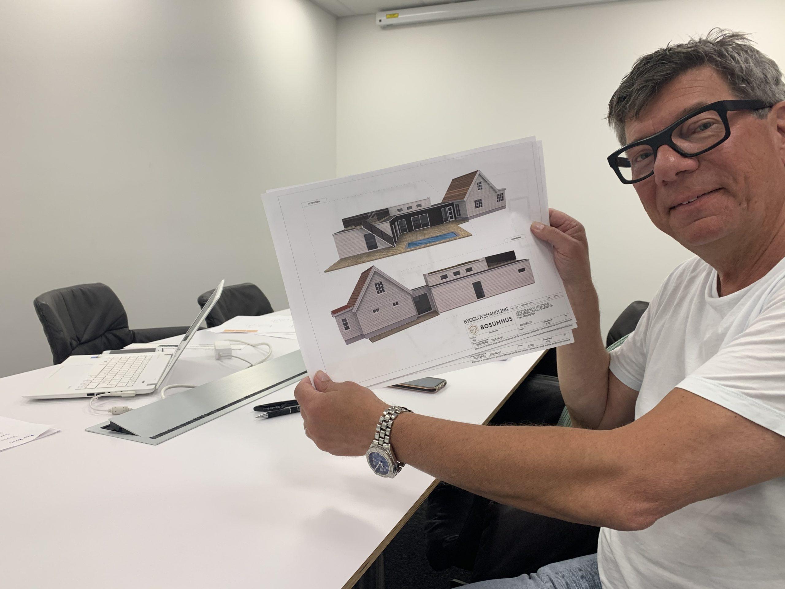 Richard ser fram emot att börja bygga