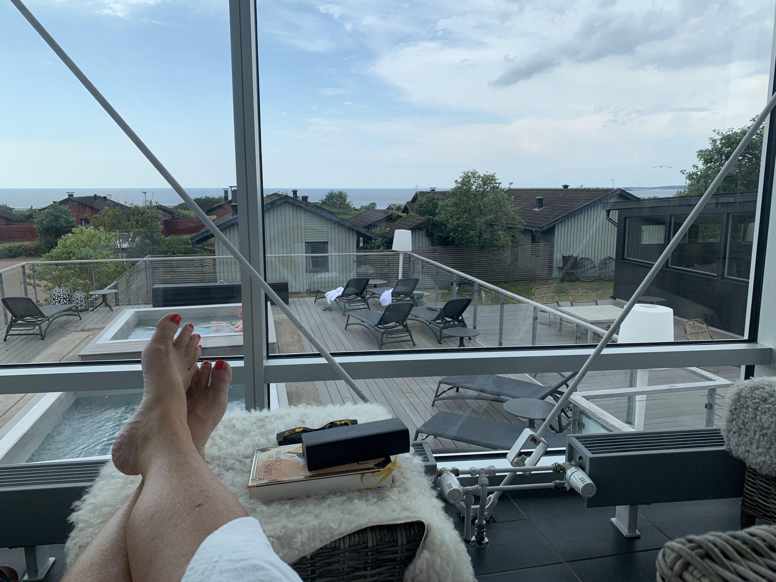 Lyxliv på Torekov spa