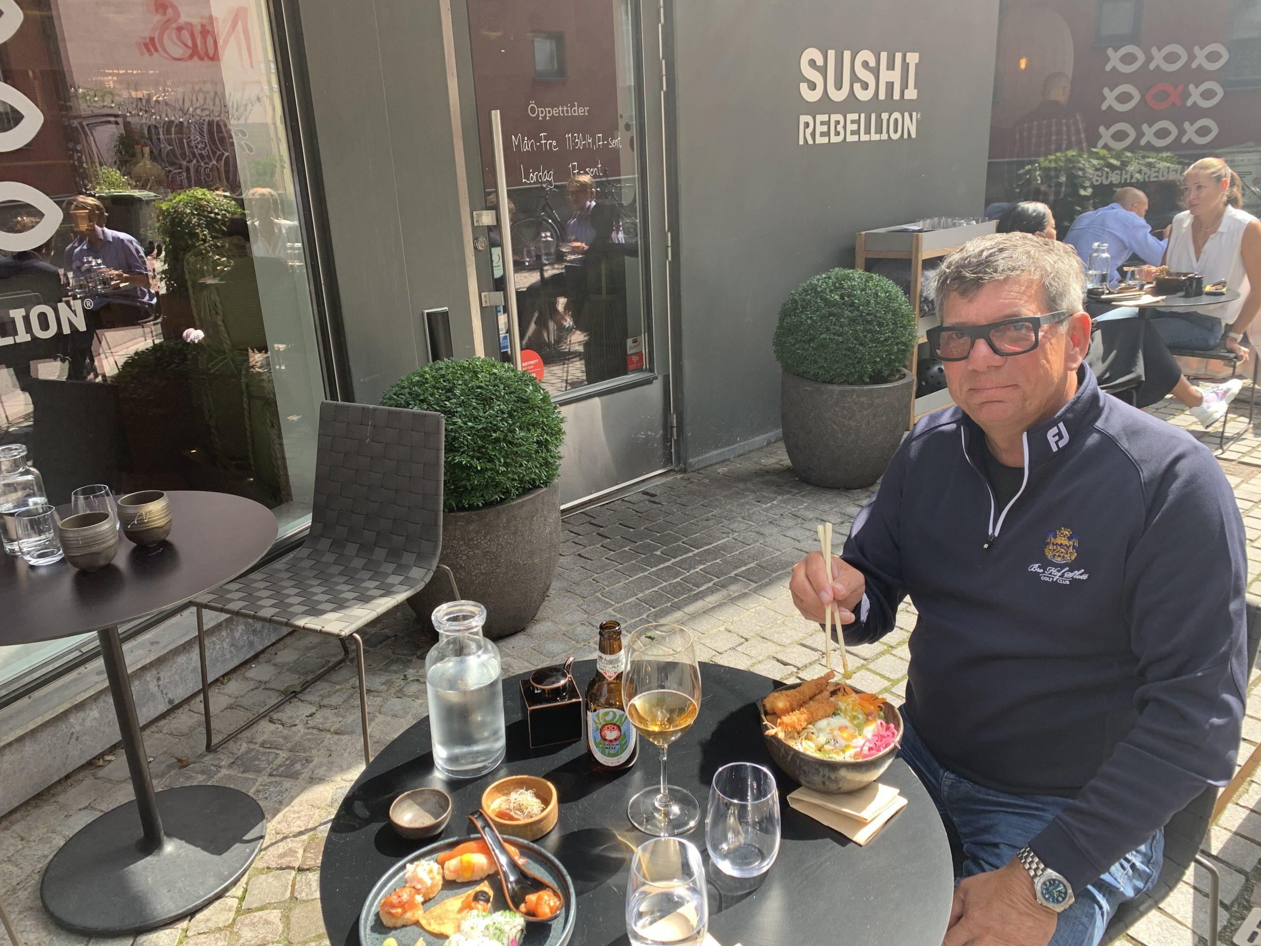 Restaurang Sushi Rebellion på Gamla väster i Malmö