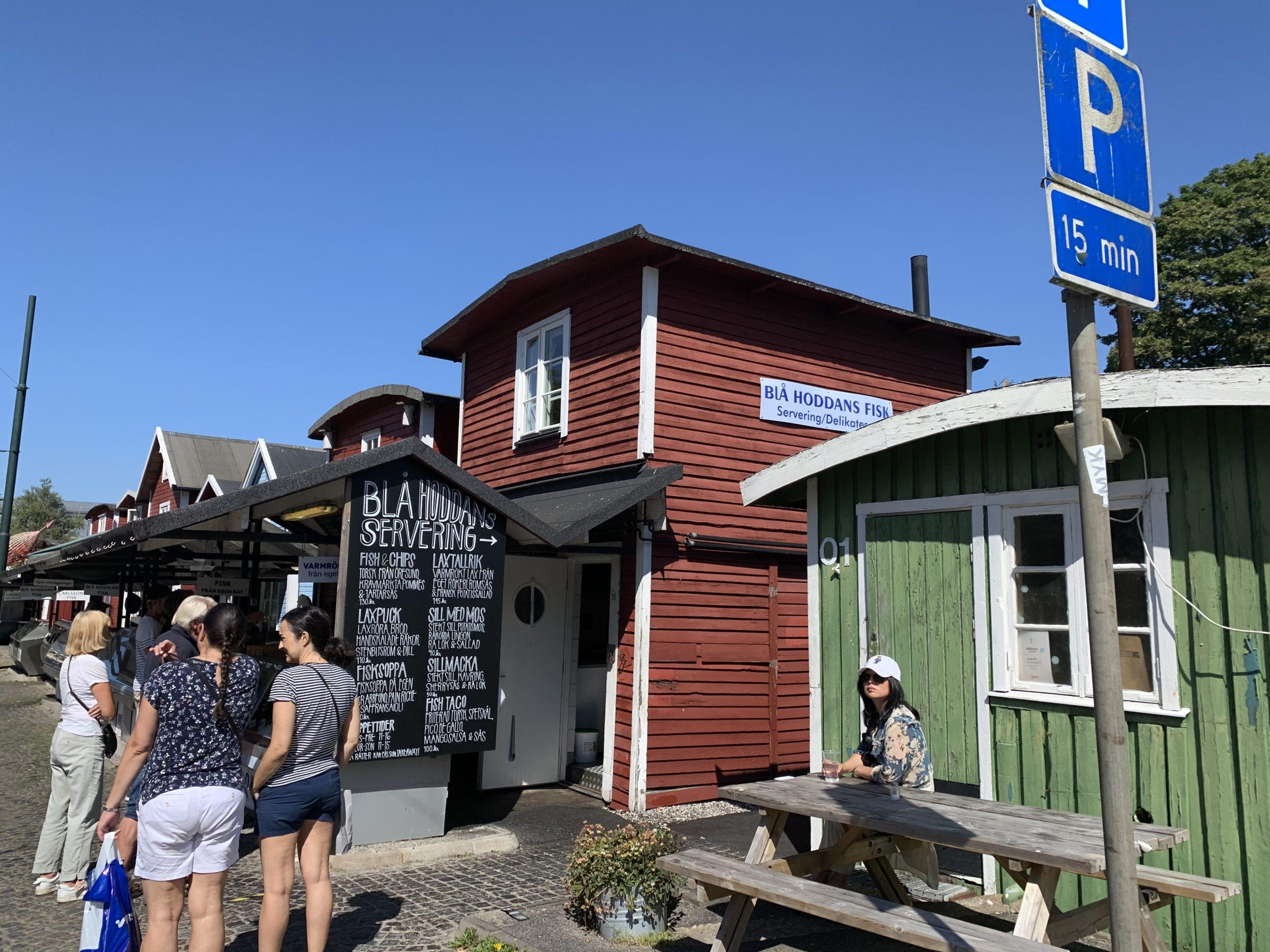 Fiskehoddorna vid Malmö muséer