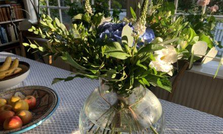 Varje fredag får jag fantastiska blommor av min älskling!