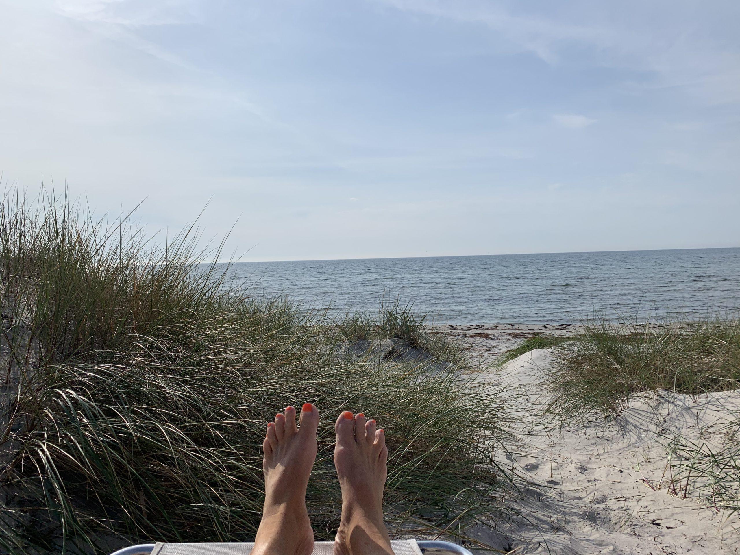 Min dag på stranden