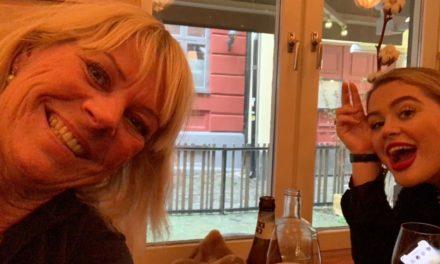 Nanna och jag förenar nytta med nöje!