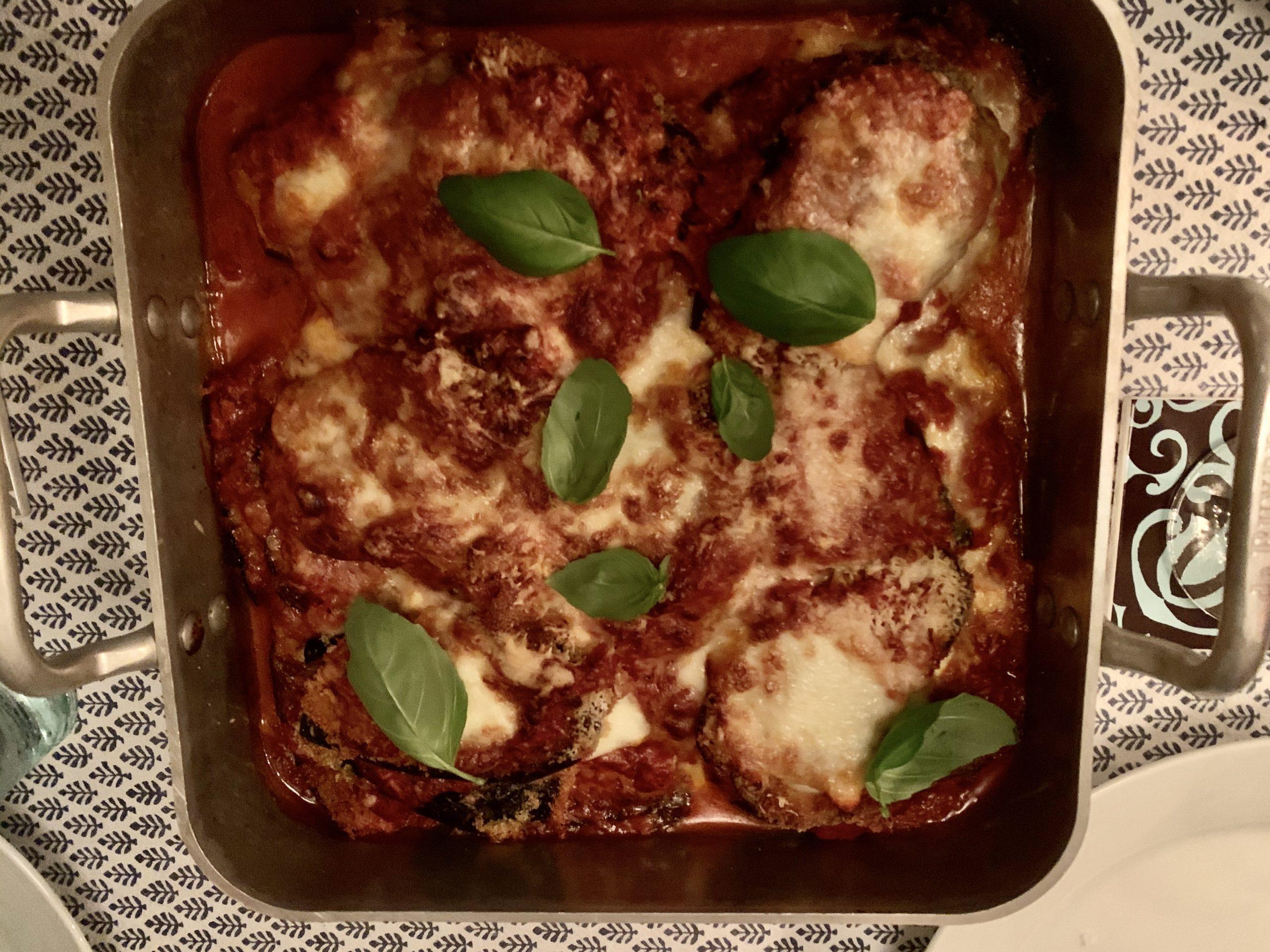 Färdig Melanzane parmigiano