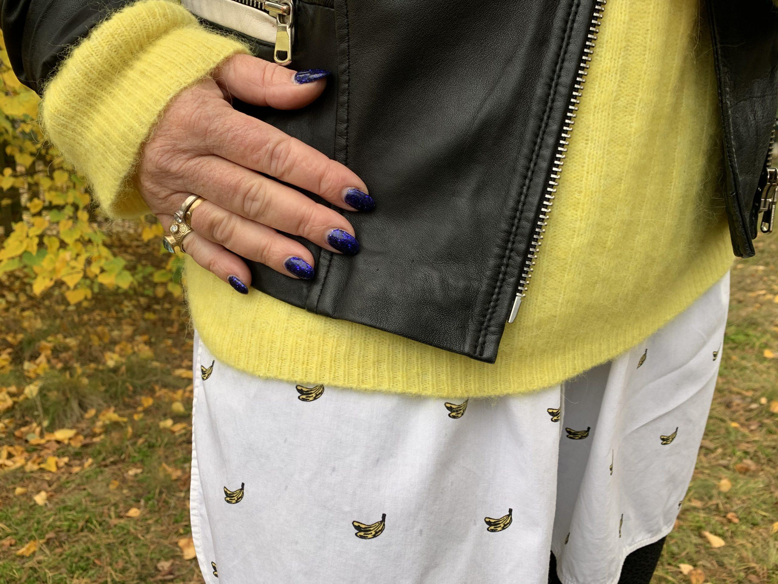 Snygga färger ihop: gult och blått