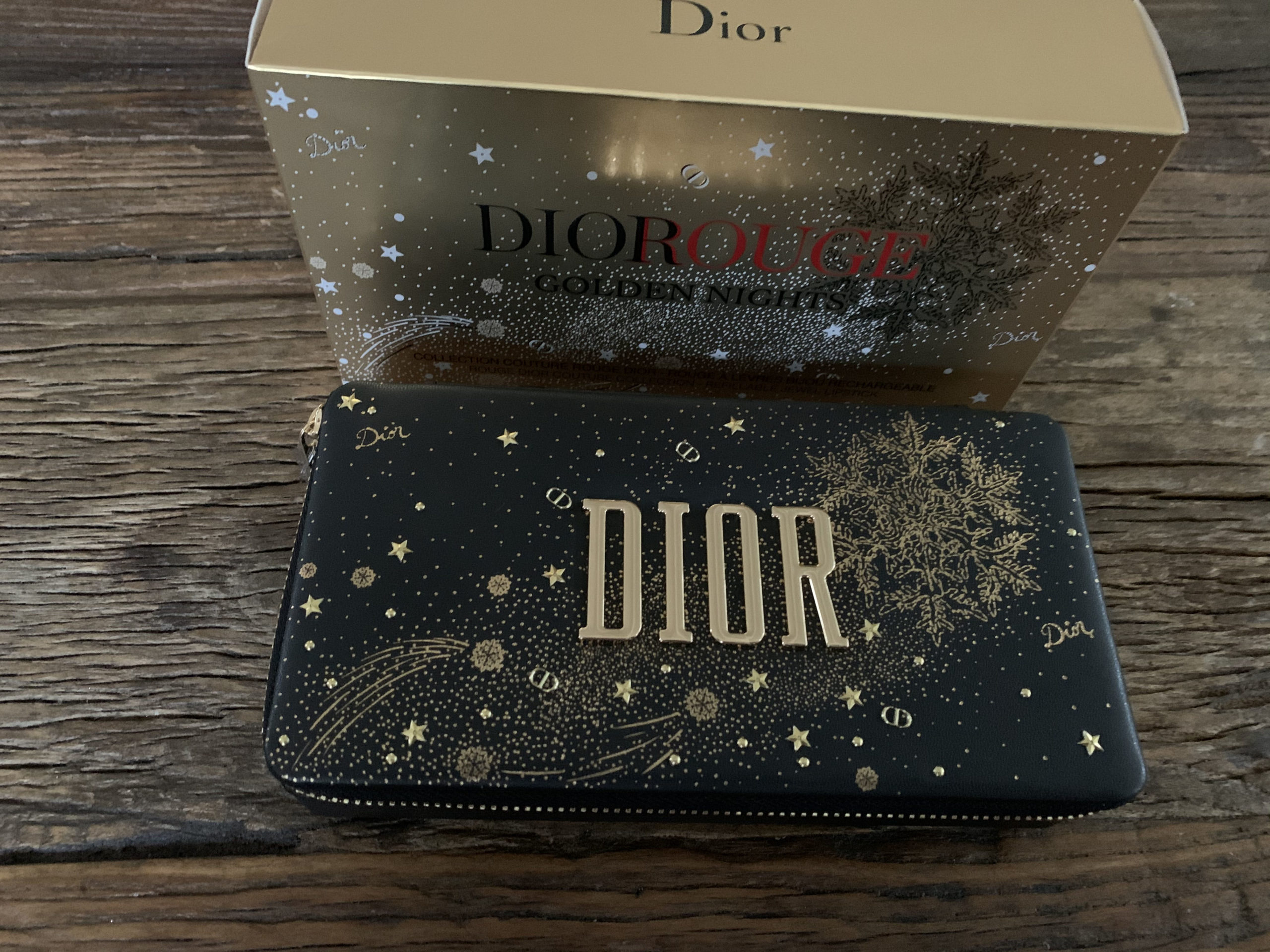 Diorrouge Golden nights – Collection couture rouge Dior, limited edition