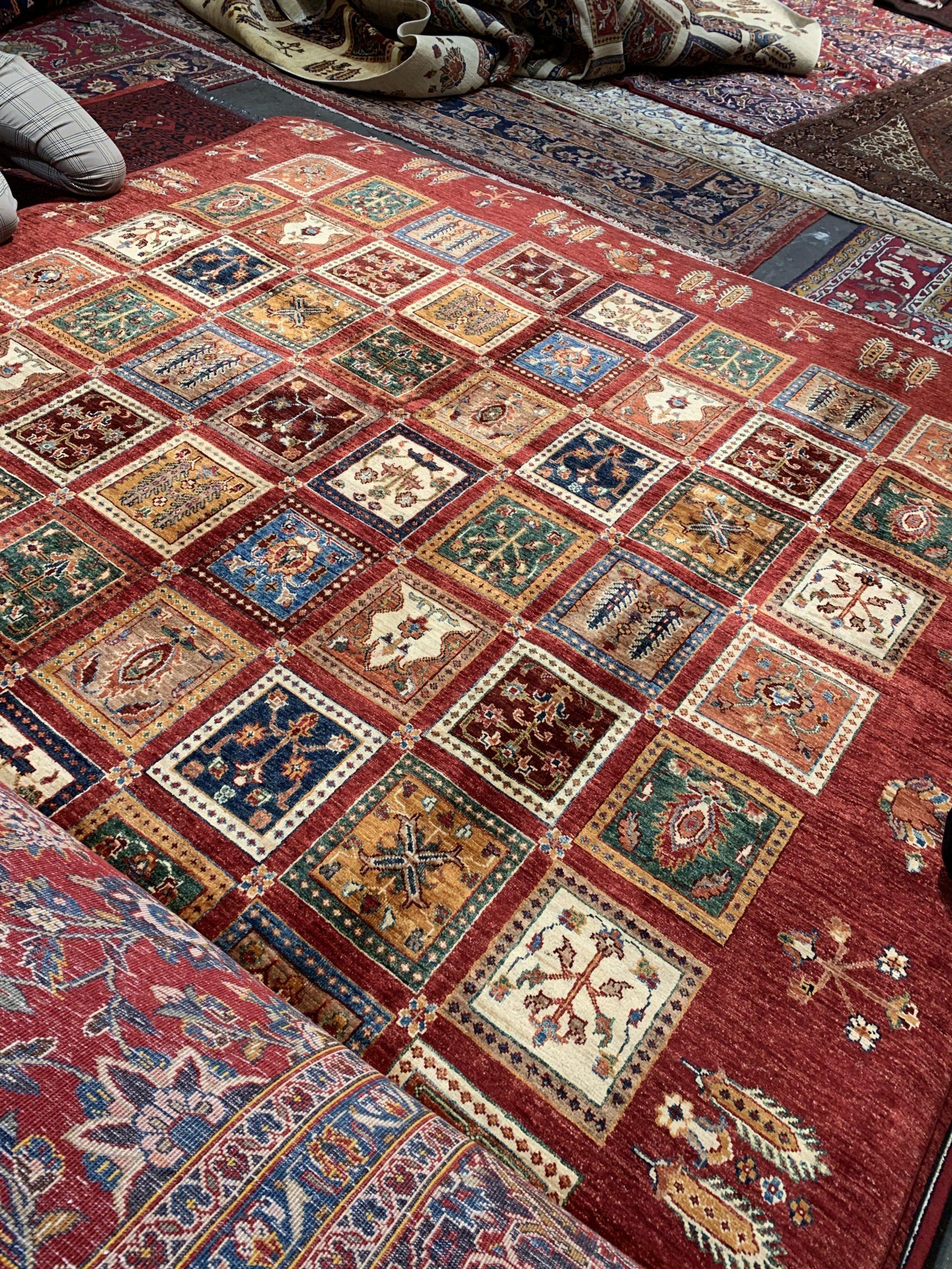 Visst är mattan vacker?